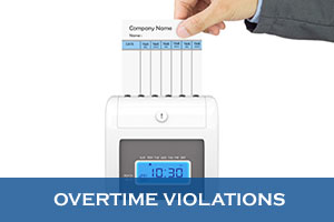 Overtime-violations