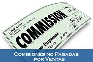 Comisiones no Pagadas por Ventas