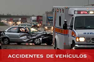 accidentes  de vehículos